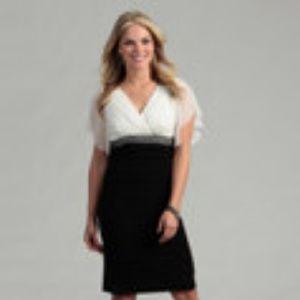 Scarlett Nite🌟Size 12 Black White Dress